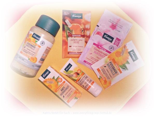 Kneipp® Pflegeprodukte für gesunde Füsse