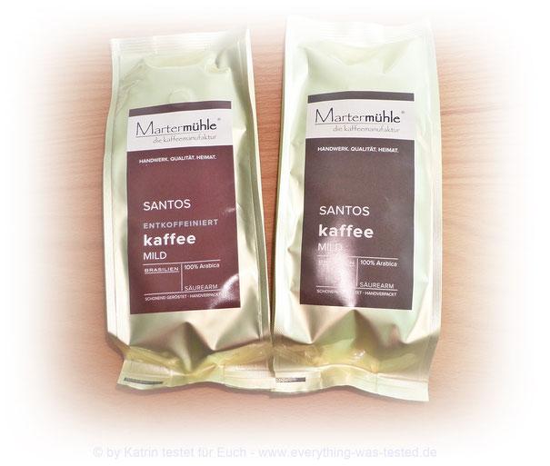 SANTOS Kaffee mild