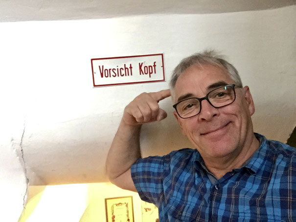 Vorsicht Kopf Foto: Ulrich Melzer