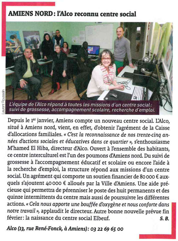 article JDA Alco centre social