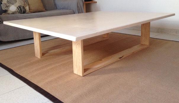 A big coffee table
