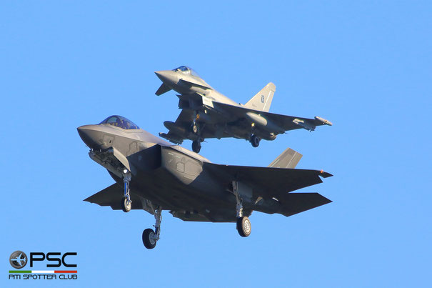 F35A AL2 and EF2000A by Gianluca Conversi, su Flickr Credit Angelo Donato Tornotti per PSC
