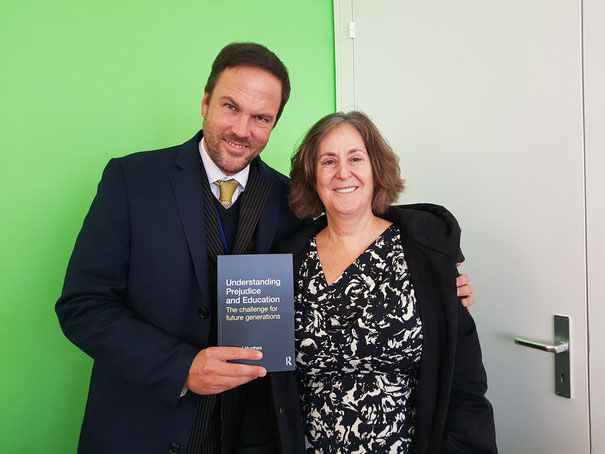 With Gillian Slovo, February 2018.