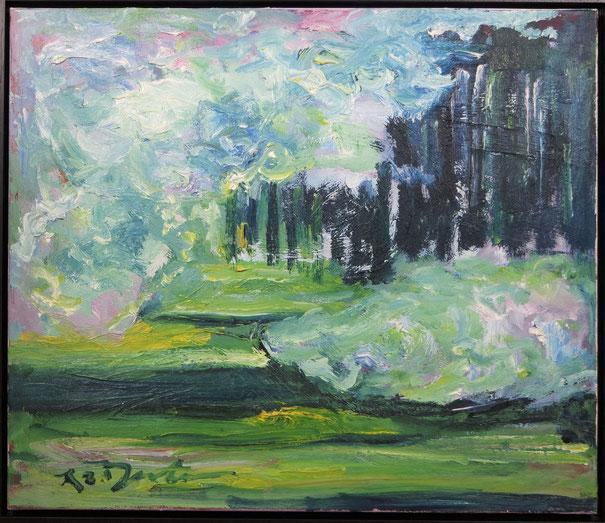 te_koop_aangeboden_een_schilderij_met_moderne_compositie_van_richard_lee_barton_1952