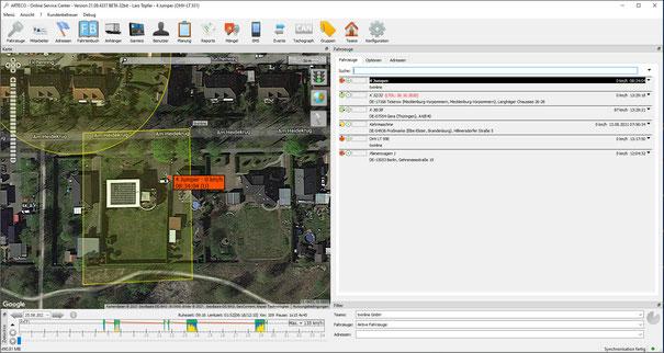 GPS Tracker für PKW LKW Transporter Baumaschinen