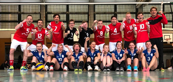 Teamgeist - GSBV Halle, GTSV Frankfurt und GSV Chemnitz