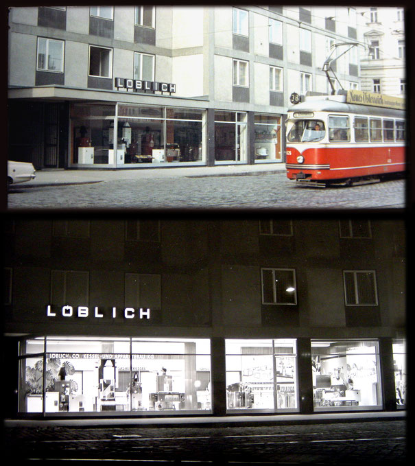 Verkaufslokal Nussdorferstrasse 21  um 1970
