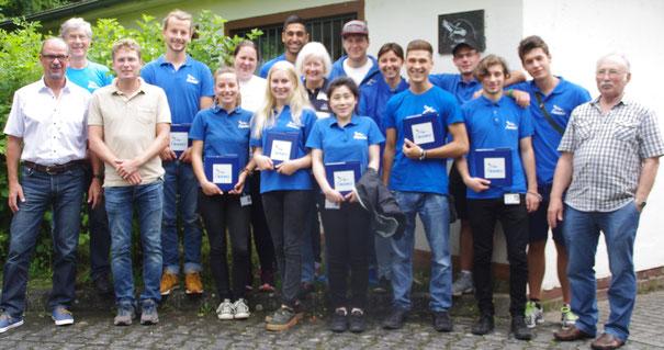 Auftakt zur Mitgliederwerbung 2017 - Foto: NABU-Limburg-Weilburg