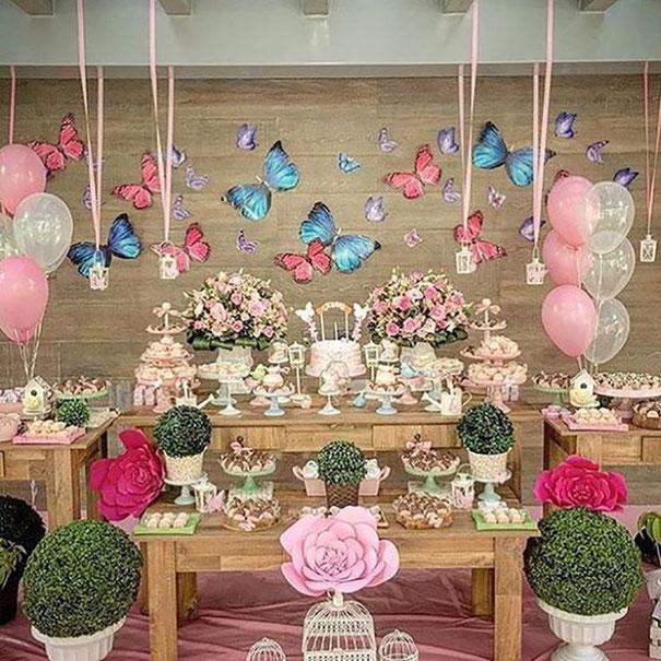 fiesta tematica mariposas