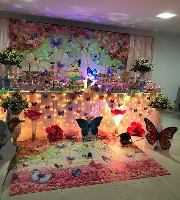 ideas decoracion fiesta mariposa