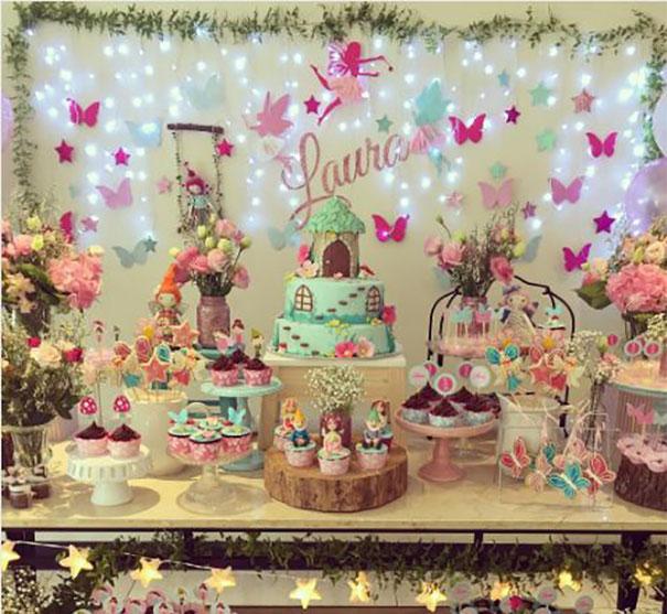cumpleaños fiesta mariposa