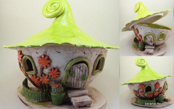 Keramik - Windlicht Dawanda Farbaktion