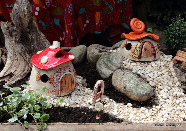Ideen aus Keramik für den Garten