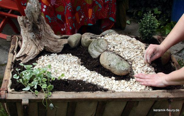Eine Idee für den Garten