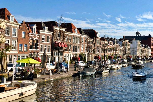 Canals in Leiden