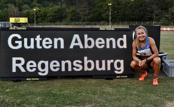 Julia Mayer Dsg wien Regensburg Sparkassengala Deutschland ASICS 3. Platz 5000 Meter Österreich