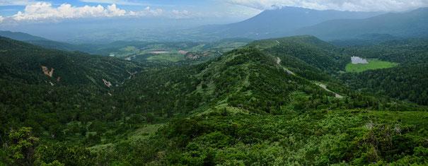 茶臼岳からの展望