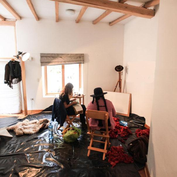 Proyecto realizado en la residencia Kai, el Valle Sagrado de los Incas (Cuzco, Perú), entre Julio y Octubre 2019