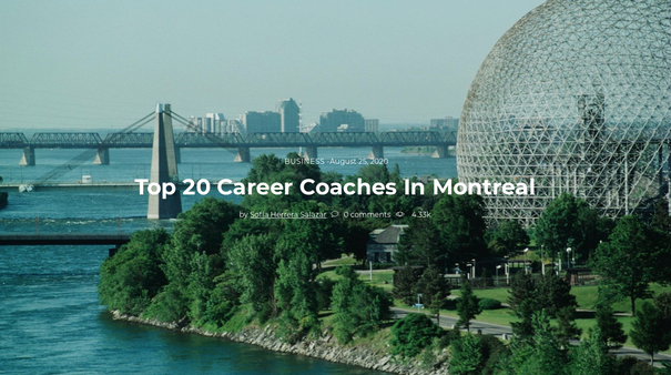 Garen Jemian Top 20 Career Coach Montreal