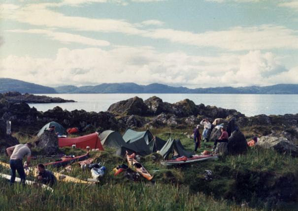camping Garvellachs, Scotland