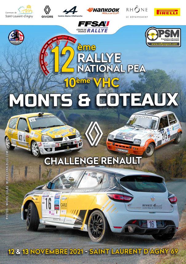 Photo Rallye Monts et Coteaux 2021