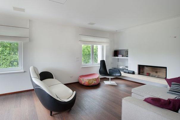 Immagine soggiorno villa singola Paderno