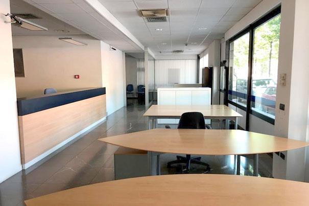 Immagine open space ufficio zona Tempio Ossario