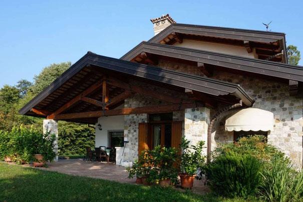 Immagine esterno villa Pagnacco