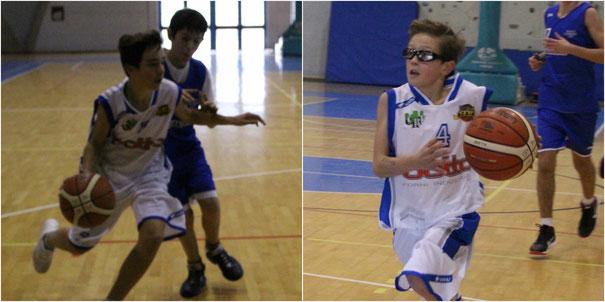 A sinistra Lorenzo Fruttero, a destra Davide Fissolo - foto Guido Fissolo