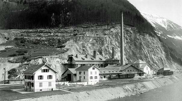 Kalkfabrik 1915