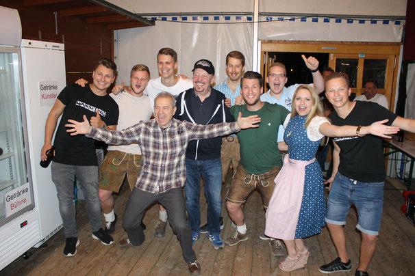 Spider Murphy Gang, Barney Murphy, Günther Sigl, Partyband, Warning, Dingolfing