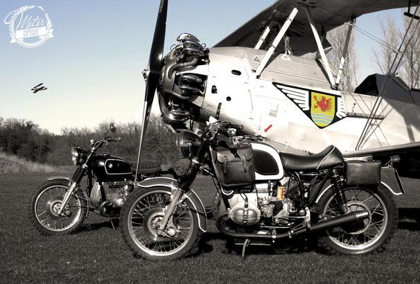 In Gesellschaft mit Focke-Wulf FW44J Stieglitz