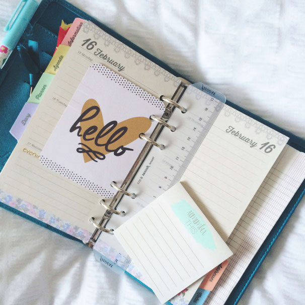 Un estudiante debe siempre llevar consigo su agenda - AorganiZarte
