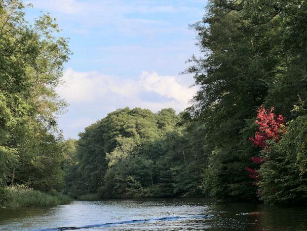 Finowkanal, Herbst Urlaub Mecklenburg