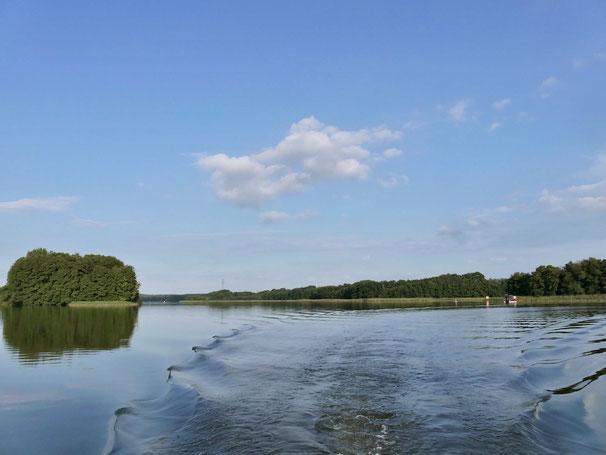 Wangnitzsee, See, Urlaub, Boot
