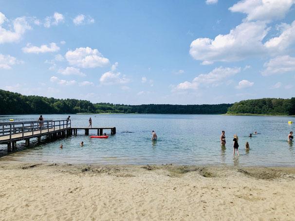 Weisser See Wesenberg Baden