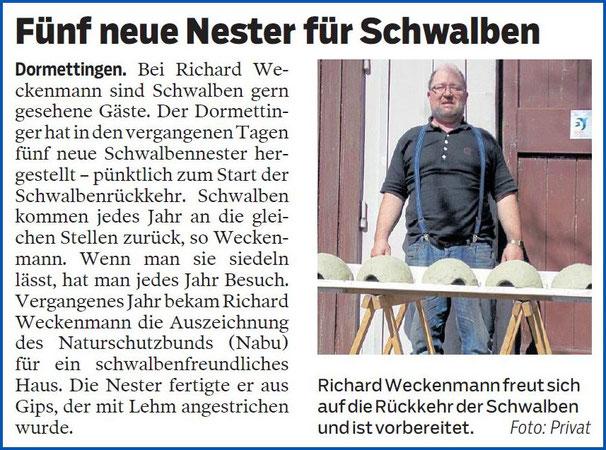 Zollern-Alb-Kurier, 26. März 2019