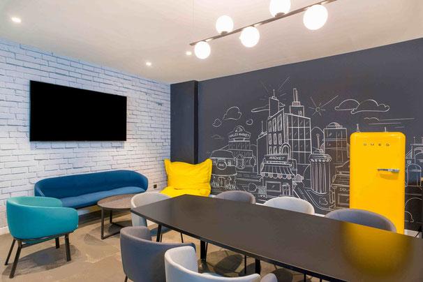 Décoration d'espace commun pour pépéinière d'entreprise - 92