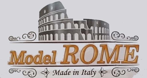 ローマのコロッセオをイメージしたロゴ / マニフレックス 「 モデルローマ 」