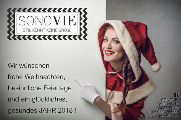 SONOVIE  Damenmode Größe 42 - 52 / Plus-Size Mode FULDA / Große Größen Fulda
