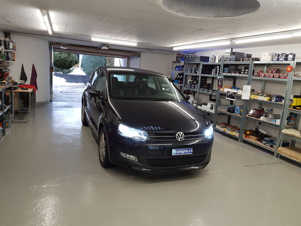 VW POLO LED Umbau H7 Philips X-Treme Ultinon