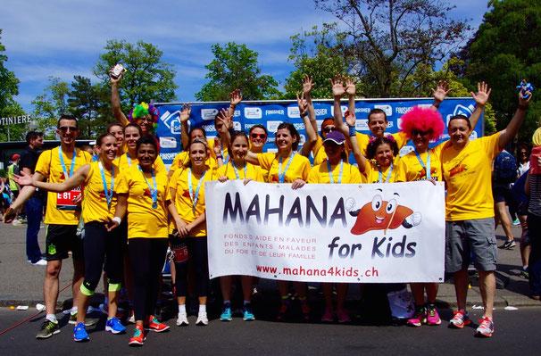 Equipe Mahana for Kids 2016