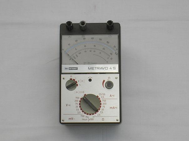 Metrawatt  Vielfach Messgerät Typ. Metravo 4 S
