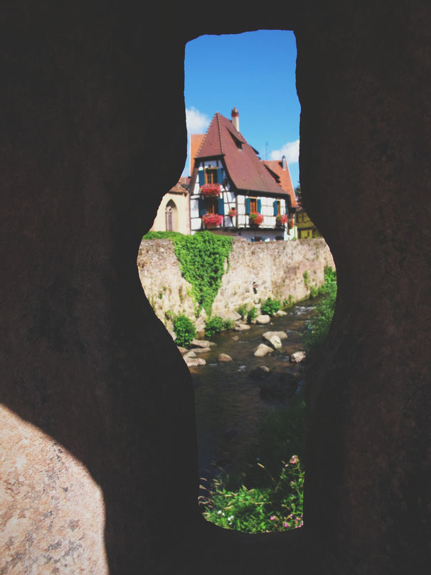 kaysersberg alsace village france bigousteppes maisons