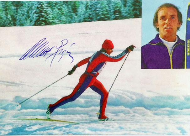 Autograph Albert Giger Autogramm