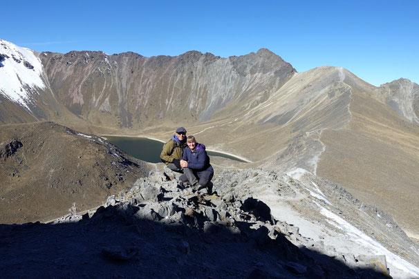 Vulkan Toluca 4690m/Mexico