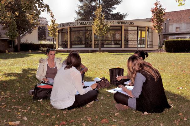 Parc, étudiants, IFSI Gonesse