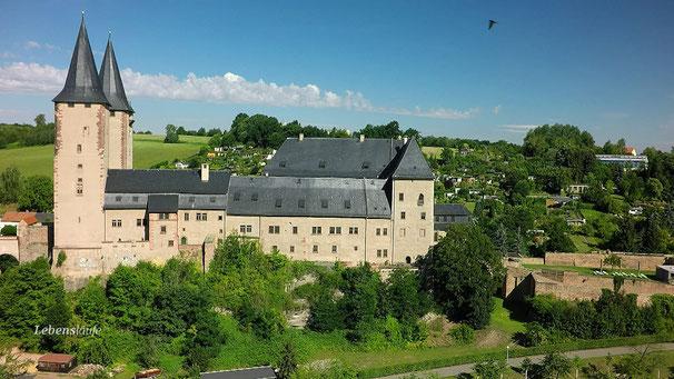 Schloss Rochlitz in Sachsen - Elisabeths Witwensitz