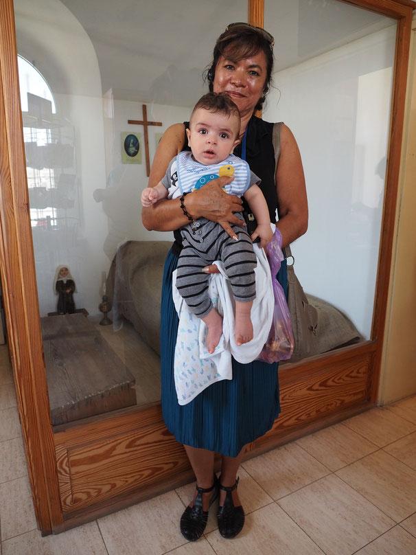 Sandra y el niño