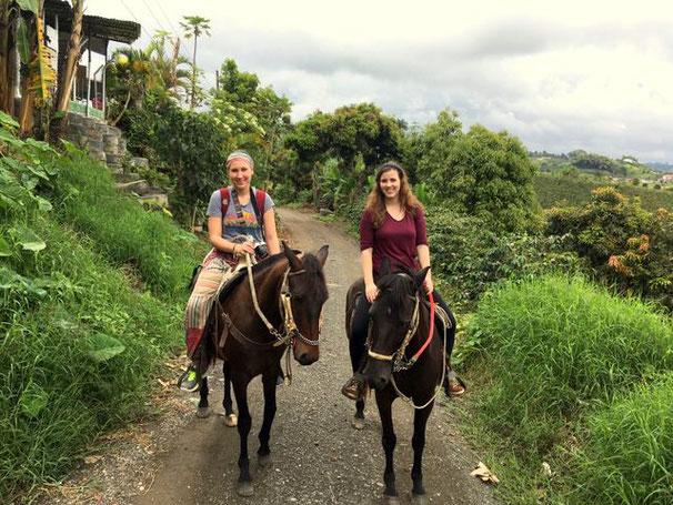 Kaffeeregion Reiten Kolumbien begleitet Reisen individuell